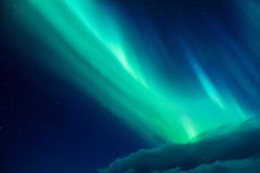 Beautiful Northern light Stock Photos