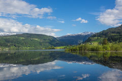 Beautiful Norway fjord Royalty Free Stock Photography