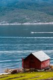 The Beautiful Norway landscape at summer Stock Photos