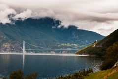 The Beautiful Norway landscape at summer Royalty Free Stock Image