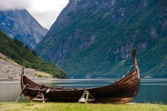 The Beautiful Norway landscape at summer Royalty Free Stock Images