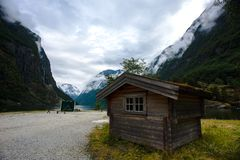 The Beautiful Norway landscape at summer Stock Photography