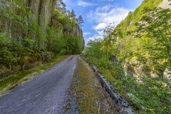 Beautiful Norway scenery Royalty Free Stock Photo