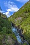 Beautiful Norway scenery Stock Photography