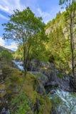 Beautiful Norway scenery Stock Photo