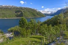 Beautiful Norway scenery Stock Image