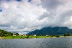 The beautiful Norwegian countryside Stock Photography