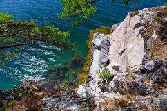 Beautiful Norwegian fjord abyss Stock Image