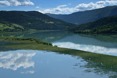 Beautiful Norwegian landscape Stock Photos