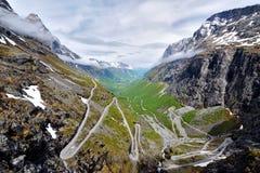 Beautiful Norwegian landscape Royalty Free Stock Photography