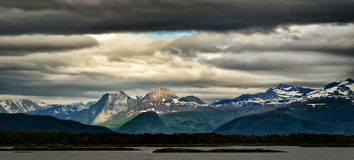 Beautiful Norwegian landscape Royalty Free Stock Photography
