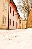 Beautiful Novy Svet Street in Prague Stock Photo