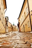 Beautiful Novy Svet Street in Prague Stock Photography