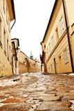 Beautiful Novy Svet Street in Prague Stock Photography