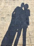 Beautiful now. Shadows in glory bless Royalty Free Stock Photos
