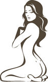 Beautiful nude woman Royalty Free Stock Images