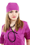 Beautiful nurse Stock Photography