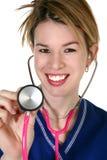 Beautiful Nurse royalty free stock image