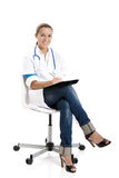 Beautiful nurse student Stock Photography
