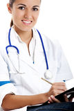 Beautiful nurse student Stock Photos