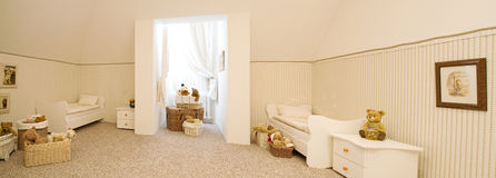Beautiful nursery with toys Stock Photography