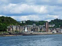 Beautiful Oban on summer time Royalty Free Stock Image