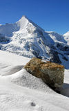The beautiful Obergabelhorn Royalty Free Stock Images