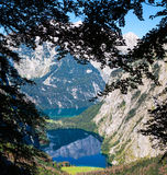 The beautiful Obersee lake in Germany Royalty Free Stock Image