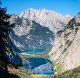 The beautiful Obersee lake in Germany Stock Photo
