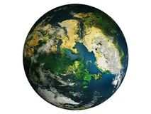 Planet Earth isolated - PNG royalty free stock photography