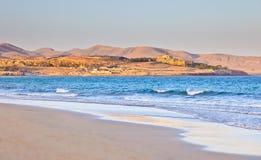 Beautiful ocean beach. On Canary islands Stock Photos