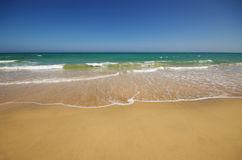 Beautiful ocean beach on Canary islands Royalty Free Stock Images
