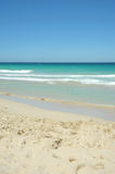 Beautiful ocean beach. A gorgeous sunny Australian beach in summer Royalty Free Stock Photography