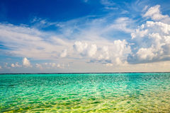 Beautiful ocean beach Stock Photography