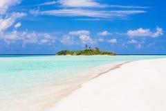 Beautiful ocean beach on Maldives Stock Photos