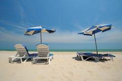 Beautiful Ocean beaches chaam Stock Images