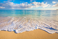 Beautiful Ocean of Hawaii Stock Images