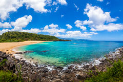 Beautiful Ocean of Hawaii Stock Photo