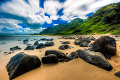 Beautiful Ocean of Hawaii Stock Photography