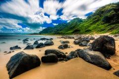 Beautiful Ocean of Hawaii Stock Photography