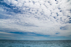 Beautiful ocean and sky.. Stock Images