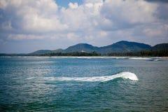 Beautiful  ocean and water waves Stock Photos