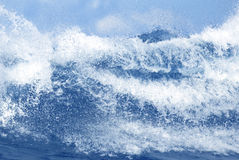 Beautiful ocean wave Stock Image