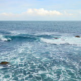 Beautiful ocean waves Stock Photography