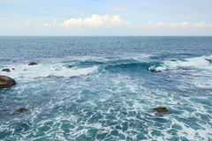 Beautiful ocean waves Royalty Free Stock Image