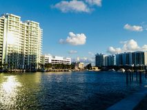 Condominium in Miami Beach Royalty Free Stock Photos
