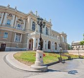 Odessa Opera and Ballet Theater, Ukraine royalty free stock photo
