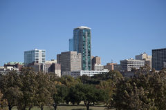 Beautiful office buildings  of Fort Worth Stock Image