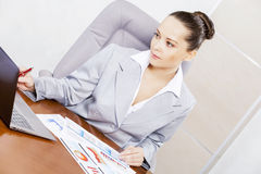 Beautiful office manager Royalty Free Stock Photos