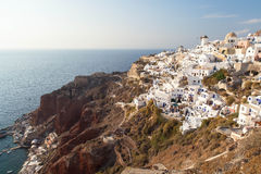 Beautiful Oia Royalty Free Stock Photography